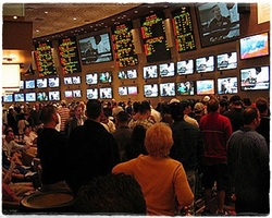 sports betting picture