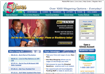 5Dimes Review? Bet At 5Dimes Here!